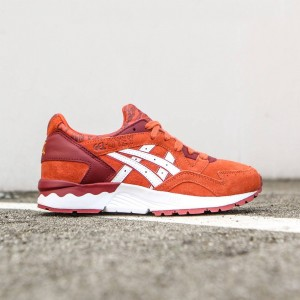 Asics Tiger Women Gel-Lyte V (red / chili / white)