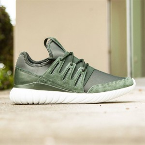 Adidas Men Tubular Radial (olive / shadow green / crystal white)