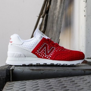 New Balance Men 574 Re-engineered Breathe MTL574MR (red / white)