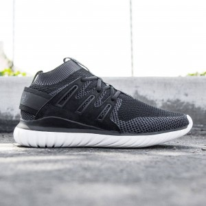 Adidas Men Tubular Nova PK Primeknit (black / shablk / core black)