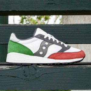 Saucony Men Jazz 91 (white / red / green)
