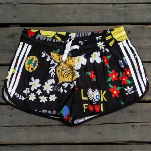 Adidas x Pharrell Williams Women Artist Running Shorts (black)