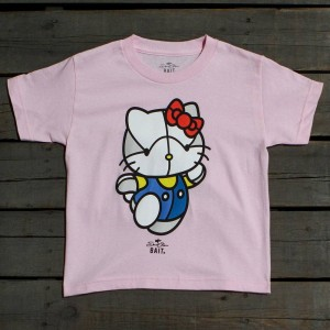 BAIT x David Flores Hello Kitty Youth Tee (pink)