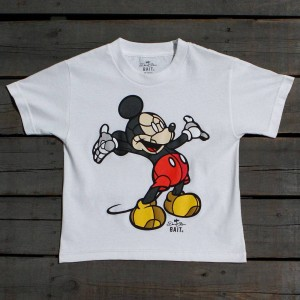 BAIT x David Flores Mickey Youth Tee (white)