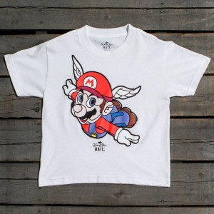 BAIT x David Flores Mario Youth Tee (white)