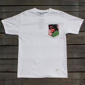 40s and Shorties Men Eazy Pop Pocket Tee (white)