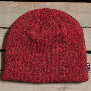 BAIT Basic Beanie (red / heather red / black)