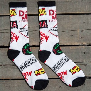 40s and Shorties Golden Era Socks (white) 1S