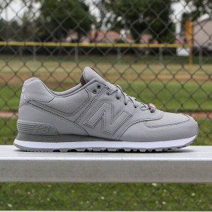 New Balance Men 574 Flight Jacket ML574FJY (silver / orange)