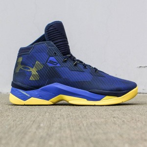 Under Armour x Steph Curry Men Curry 2.5 - Dub Nation Royal Playoff PE (blue / yellow)