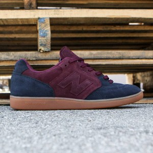 New Balance x Sneakersnstuff Men Epic Trainer - Made in UK (burgundy / blue / gum)