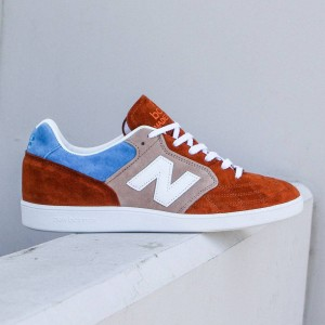 New Balance x Hanon Shop Men Epic Trainer - Made in UK (orange / blue / white)