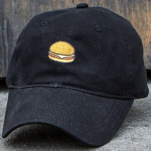 Reason Burger Dad Cap (black)