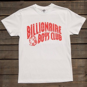 Billionaire Boys Club Men BB Arch Logo SS Tee (white)