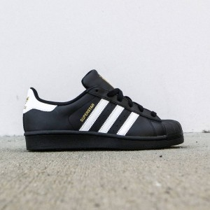 Adidas Big Kids Superstar (black / footwear white / core black)