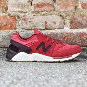 New Balance Men 009 Speckle Suede ML009PN (red / clay red / supernova red)