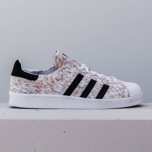 Adidas Men Superstar 80s Primeknit (white / footwear white / core black)