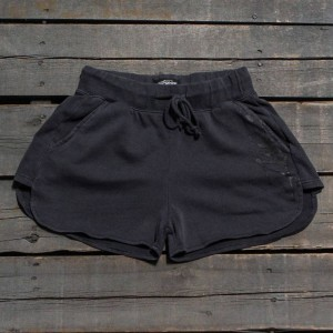 Stussy Women Buena Stock Shorts (gray / charcoal)