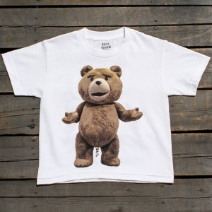BAIT x Ted Big Ted Youth Tee (white)