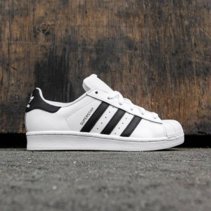 Adidas Big Kids Superstar (white / core black / running white ftw)