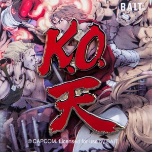 BAIT x Street Fighter K.O. Akuma Ten 2 Pins (red)