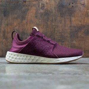 New Balance Men Fresh Foam Cruz MCRUZOM (burgundy / sea salt / gum)