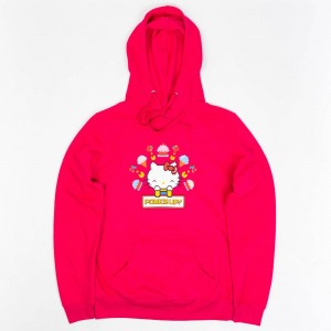 BAIT x Sanrio x Pac-Man Women Power Up Hoody (pink)
