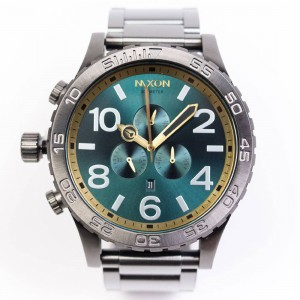 Nixon 51-30 Chrono Watch (gray / gunmetal / spruce)