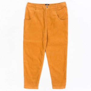BAIT Unisex Corduroy Tailored Pants (brown / camel)