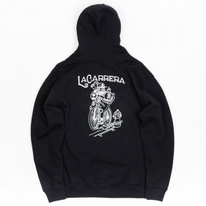 La Carrera Men King Rides Again Hoody (black)