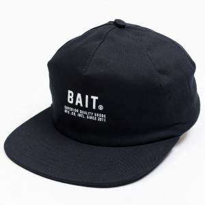 BAIT Superior Logo 1 Panel Hat (black)