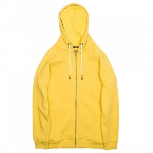 BAIT Men Zip Up Hoody (yellow)