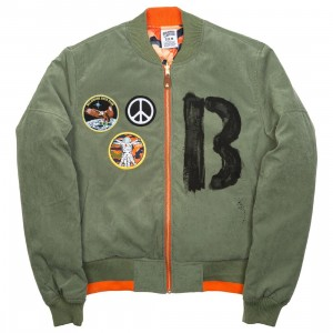 Billionaire Boys Club Men Four Leaf Reversible Jacket (multi)