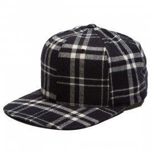 The Hundreds Bruh Bruh Snapback Cap (black)