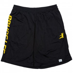 BAIT x Bruce Lee Men Basketball Shorts (black / yellow)