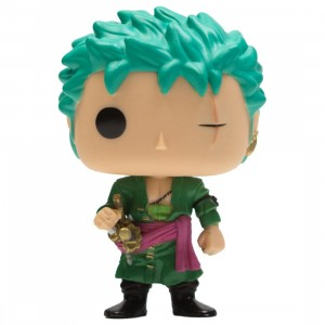 Funko POP Animation One Piece - Roronoa Zoro (green)