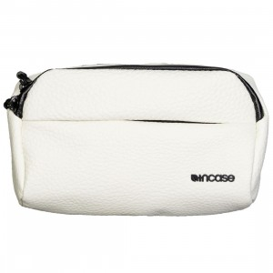 Incase Side Bag - Pebbled Leather (white)