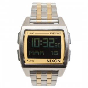 Nixon Base Watch (silver / light gold)