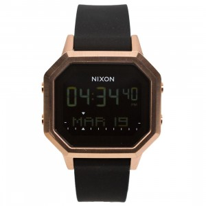 Nixon Siren SS Watch (gold / rose gold / black)