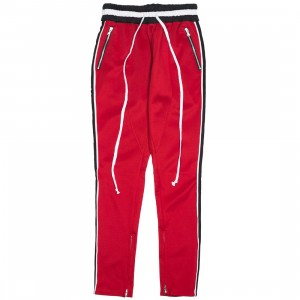 Lifted Anchors Men Jenner Track Pants - BAIT Exclusive (red / gold)