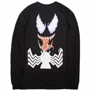 BAIT x Marvel Venom Men Logo Long Sleeve Tee (black)