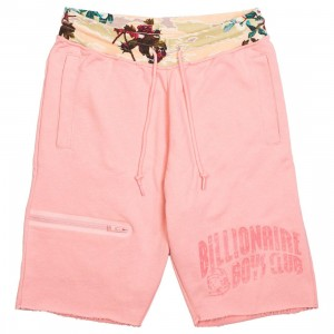 Billionaire Boys Club Men Symbol Sweatshorts (pink)