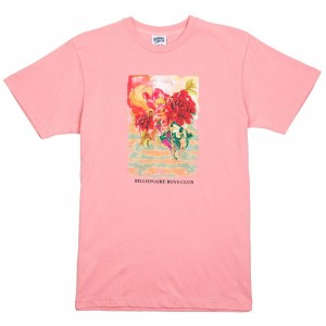 Billionaire Boys Club Men Painted Tee (pink)