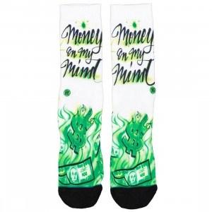 Stance Men Airbrushed Money Socks (multi)