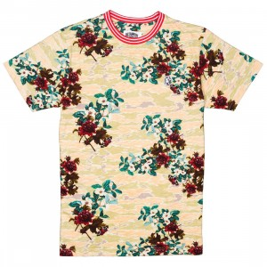 Billionaire Boys Club Men Smell The Roses Knit Shirt (yellow)