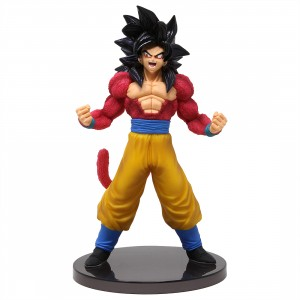 Banpresto Dragon Ball GT Blood Of Saiyans Special Ver. 3 Super Saiyan 4 Goku FIgure (red)