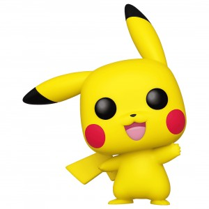 PREORDER - Funko POP Games Pokemon Pikachu Waving (yellow)