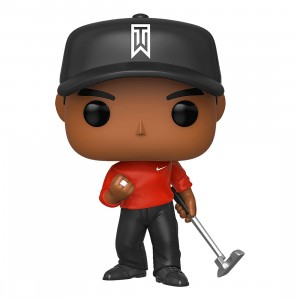 PREORDER - Funko POP Golf Tiger Woods Red Shirt (red)