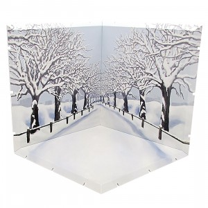 Good Smile Company Dioramansion 150 Winter Cherry Blossom Road Figure Diorama (white)