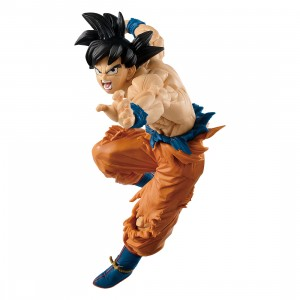 Banpresto Dragon Ball Super Tag Fighters Son Goku Color Variant Figure (orange)